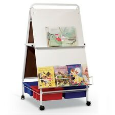 MooreCo Best-Rite Baby Folding Wheasel Easel with Tubs and Tub Rack, 784T New