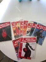 Kill Or Be Killed 1-14 *image Comics* Lot