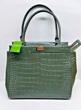KATE SPADE NEW YORK ALICE WKRU2707 HANDBAG GREEN RIDGELY AVENUE LODEN NWT
