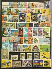 Ghana Lot of 70 Cancelled Stamps #7128