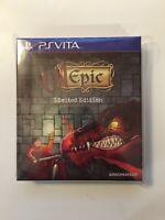 Unepic Limited Edition 112 (Sony PlayStation Vita PS Vita) EastAsiaSoft - SEALED