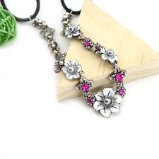 Flower Elastic Headband Pins Hair Band Head Accessories Women Fashion Jewelry