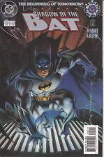 BATMAN SHADOW OF THE  BAT N°  1  Albo in Americano