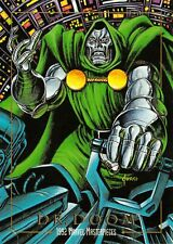 DR. DOOM / 1992 Marvel Masterpieces BASE Trading Card #26 Art by JOE JUSKO