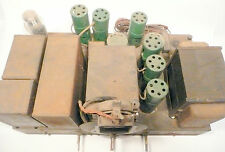 vintage* STROMBERG CARLSON 23037 RADIO: Untested  CHASSIS w/ 7 TUBES & 6 casings