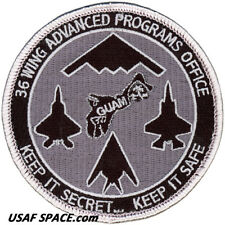 USAF 36TH WING - ADVANCED PROGRAMS OFFICE -  Andersen AFB, Guam - ORIGINAL PATCH