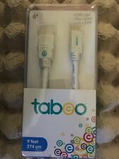 Toys-R-Us gold Tabeo Mini HDMI 9ft Universal Cable