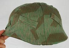 WWII German Splinter Camo M35 Reversible Helmet Cover -33102