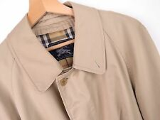Ku378 BURBERRY cappotto coat originale Premium Made in England Beige Taglia 42
