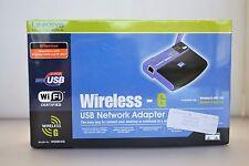 Cisco Linksys WUSB54g Wireless Network 802.11g/b USB Wifi Adapter [ NEW In Box ]