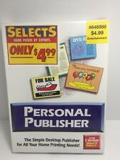 Expert Personal Publisher Software PC, CD-ROM New Sealed