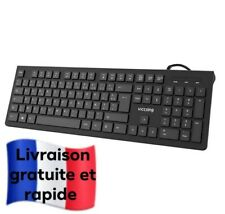 Clavier Filaire AZERTY Clavier USB VicTsing