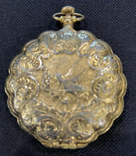 Vintage Gold Pocket Watch style Ladies Max Factor Compact with Mirror