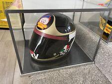 Vintage Barry Sheene 1977 AGV X3000 Replica crash helmet. Very Rare. Moto GP WSB
