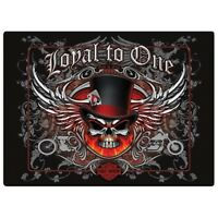 HARLEY-DAVIDSON LOYAL TO ONE SKULL MOTORCYCLE SIGN MAGNET CHOPPER HD VINTAGE