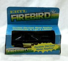 RARE 1980s Vintage Ertl Diecast Firebird Car Replica 1/25 Scale New Boxed Blue