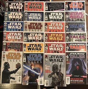 Star Wars Dark Horse TALES Complete Series #1-#24 Vader Maul Fett Solo Key A+