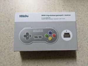 8Bitdo SN30 2.4G Wireless Gamepad for Original SNES/SFC SF Edition IN HAND!!!
