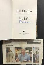 Bill Clinton President My Life Hard Cover Book Signed Mint Proof PSA JSA CBM COA