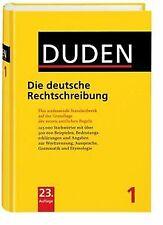Duden 01. Die deutsche Rechtschreibung | Buch | Zustand gut