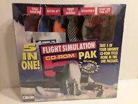 Flight Simulation CD-ROM 5 in One Pak (1995)