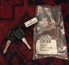 zwei Original VW Golf Schlüssel nicht codiert mit Transponder NEU
