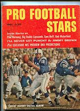 Pro Football Stars #2 1960 Johnny Unitas Jimmy Brown Sam Huff   MBX108