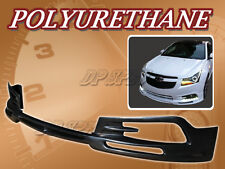 FOR 11-12 CHEVY CRUZE T-3 FRONT BUMPER LIP BODY SPOILER KIT POLYURETHANE PU