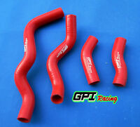 RED silicone radiator hose FOR Kawasaki KLX250 KLX 250 1993-2010 94 95 96 97