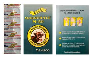 Cuajo Marschall Coagulante 10 ,20 pastillas original de calidad para hacer queso