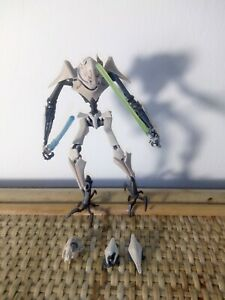 Star Wars the clone wars General Grievous cw10 hasbro rare version