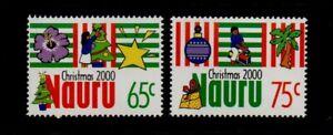 NAURU.  CHRISTMAS   2000  MNH.