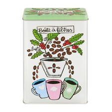 Derriere la Porte Aufbewahrungsdose Dose für Kaffeefilter Blechdose
