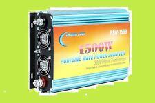 1500W pure sine wave power inverter, DC 12V / AC 110V, 60hz, tool