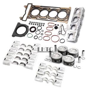 Engine Overhaul Pistons kit For Mercedes-Benz C180 W204 W205 W213 R172 M274 1.6