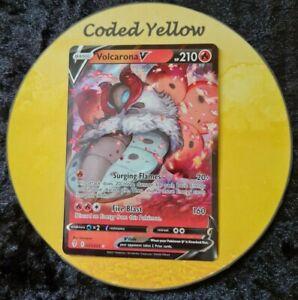 021/203 Volcarona V | Evolving Skies SWSH Pokémon TCG | HALF ART Card | N/M