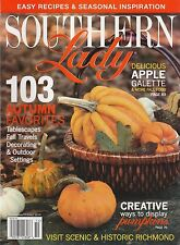 SOUTHERN LADY (magazine) September / October 2010 - Richmond, Autumn, Seasonal