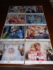 THE MUPPETS TAKE MANHATTAN(1984)LOT OF 3 ORIG COLOR STILL SET OF 8 DIFFERENT+