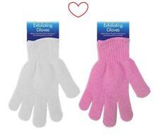 Exfoliating Gloves Skin Body Bath Shower Massage Spa 1 Pair Wash Scrub