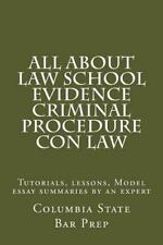 All about Law School Evidence Criminal Procedure con Law : Tutorials,...