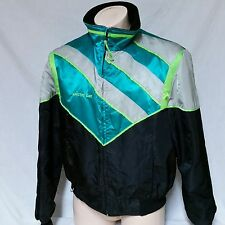VTG Arctic Cat Jacket Snowmobile Neon 90s Winter Coat Ski Thinsulate Mens XL