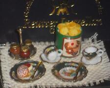 Englische Teezeit, Reutter-Miniatur im Maßstab 1:12