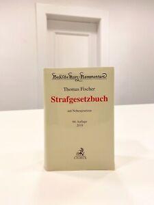 Fischer StGB Strafgesetzbuch Kommentar 66. Aufl 2019 keine Anmerkungen