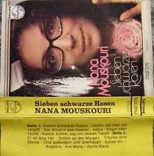 Musikkassette Nana Mouskouri / Sieben schwarze Rosen - Album
