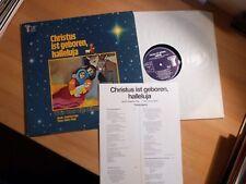 """12"""" LP - Siegfried Fietz - Christus ist geboren, Halleluja - Abakus 90034"""