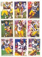 1994 Fleer Los Angeles Rams Complete Team Set!!  Jerome Bettis Rookie ++