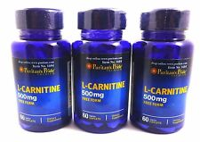3X L-Carnitine 500 Fat Burner Cutting Diet Pill Energy Bodybuilding Muscles