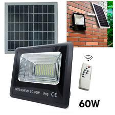 Spotlight LED 60W Crepuscular Refill Solar Panel Light Garden 6000K IP65