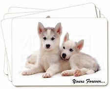 Husky Puppies 'Yours Forever' Picture Placemats in Gift Box, AD-H60yP