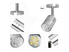 10 x 3W LED Surface Mount Wall Spotlight Ceiling Lamp Silver Pure White Fixture